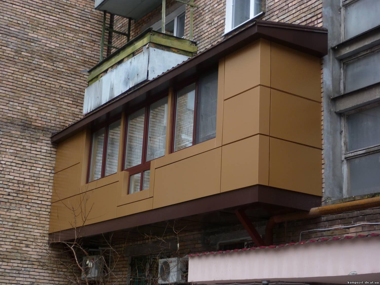 Ремонт балконов и лоджий - фото готовых вариантов и идей для.